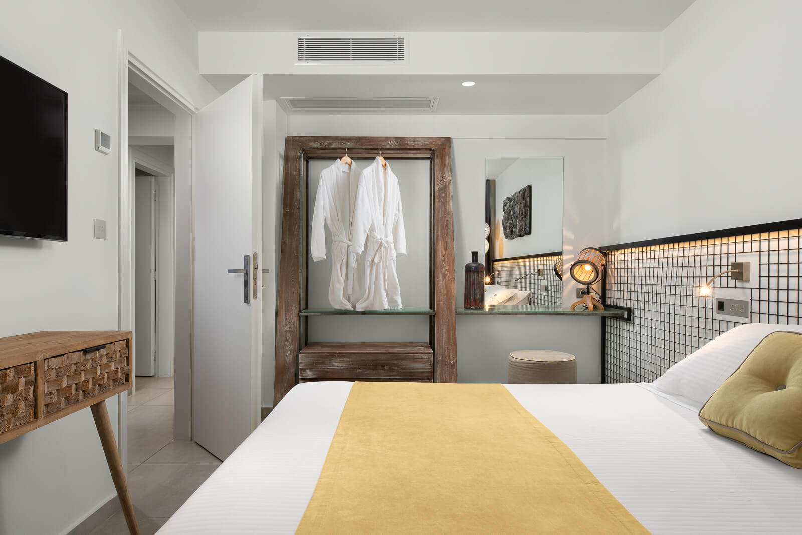 Aspalathos Hotel Room - Elakati Hotel in Rhodes