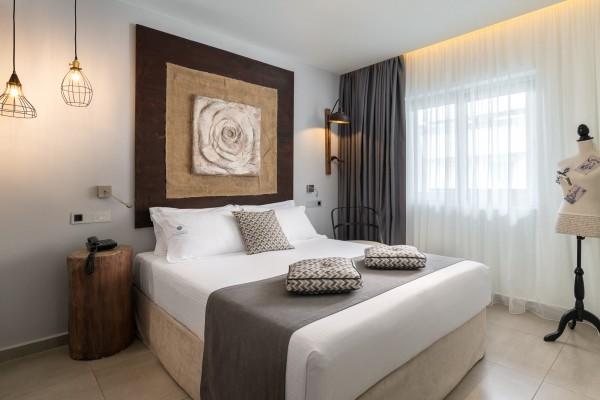 Castro Themed Room - Elakati Hotel in Rhodes Greece