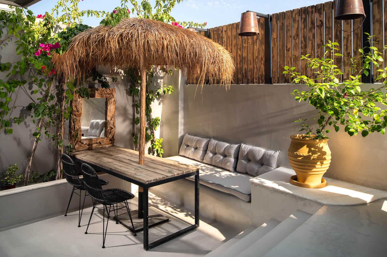 Iviskos Suite Private Terrace - Elakati Hotel in Rhodes Greece
