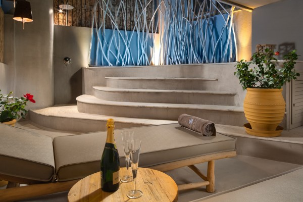 Iviskos Suite Terrace with Private Hot Tub - Elakati Hotel in Rhodes Greece