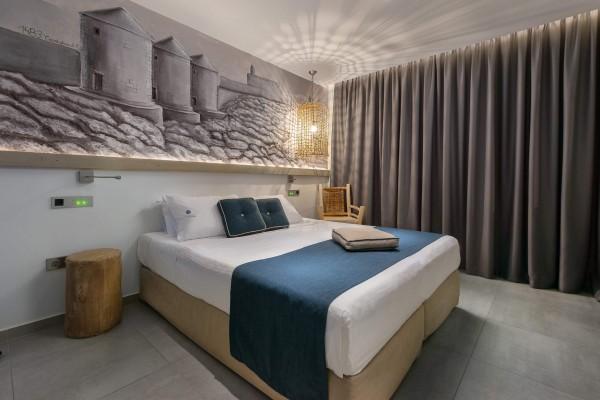 Milos Themed Room - Elakati Hotel in Rhodes Greece