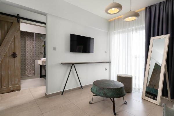 Vrachos Living Room - Elakati Luxury Boutique Hotel in Rhodes