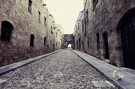 Old Medieval Town in Rhodes