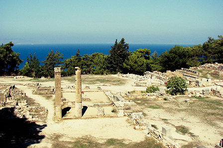 Ancient Kamiros in Rhodes